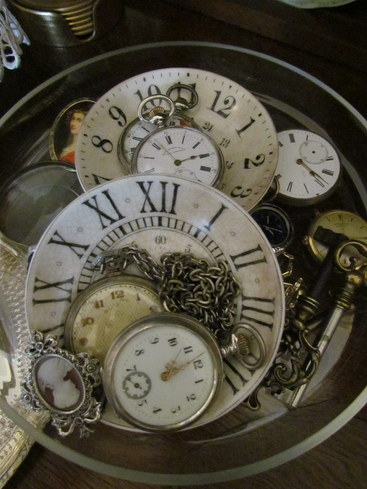 more clocks….