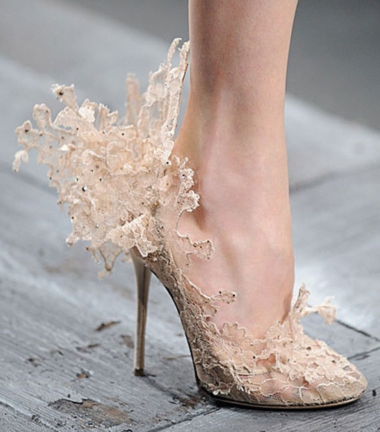 ValentinoLaceShoes