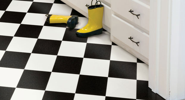 black-and-white-checkerboard-floor-tile