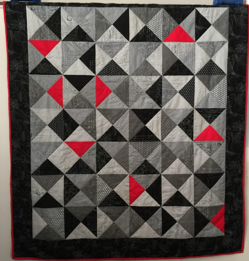 Moda Background Ink Quilt for Adrian