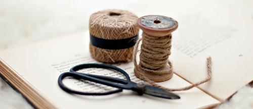 string & scissors