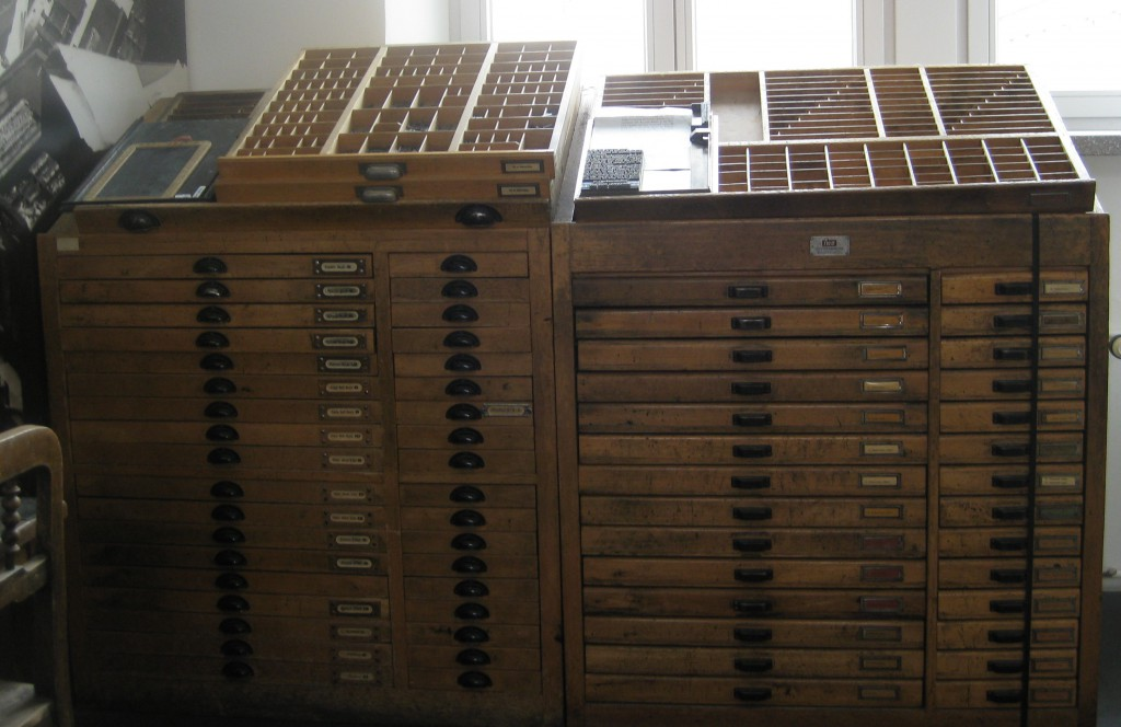 Letterpress drawers