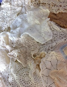 Doilies, doilies and more doilies
